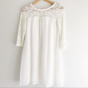 Miami Lace Shift Dress